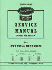 39 40 41 42 43 45 47 FORD TRACTOR SERVICE MANUAL-9N-2N