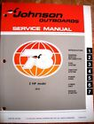 Factory Service Manual - 1978 Johnson 2hp Outboards