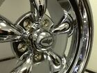 15x7 & 15X8 COYS C-5 CHROME WHEELS BUICK OLDSMOBILE LESABER SKYLARK CUTLASS  66