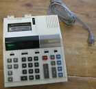 Sharp Compet VX-2183 Electronic Printing Calculator Plugs In Vintage Works!