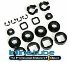 1968 - 1969 GTO Hide-A-Way Headlight Bushing Plastic Kit 18pc OEM