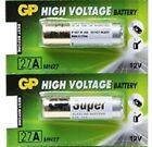 2 x GP 27A 12V Battery GP27A A27 MN27 E27A EL812 L828