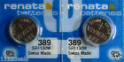2 Renata Replacement Batteries for Swatch GENT LOOMI
