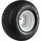 Golf Cart & Tractor Replacement Tire Assembly-18 x 850 x 8 Sawtooth 858GK4W4SWIN