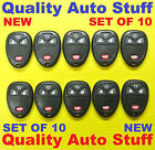 Lot 10X NEW Set Of 10 Remote Fob Shell Case With Button Pad OUC60270 15913421