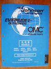 NEW - Factory Parts Manual - 1998 Johnson & Evinrude 5, 6 & 8hp Models