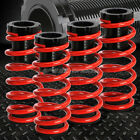 """FOR 85-98 VW GOLF/JETTA RED 1-3"""" ADJUSTABLE COILOVER SUSPENSION LOWERING SPRING"""