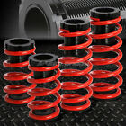 """FOR 93-97 FORD PROBE/MX6 RED 1-3"""" ADJUSTABLE COILOVER SUSPENSION LOWERING SPRING"""