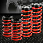 """FOR 00-05 MIT ECLIPSE 3G RED 1-3"""" ADJUSTABLE COILOVER SUSPENSION LOWERING SPRING"""