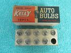 VINTAGE KELLY  ALGON GAS 6 AND 8 VOLT  TAIL LIGHT BULBS  BOX OF ( 9 )  NOS 416