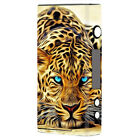 Skin Decal for Sigelei Fuchai 200W TC Vape Mod / Leopard with Blue Eyes