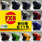 NEO-RIDERS FX8 ULTIMATE W-Shield Flip-up Fullface Helmet Size & Color Variations