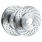 Brake Rotors [2 Rear] POWERSPORT *DRILLED ONLY* DISC BD00732