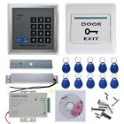 Electric Home Door Lock Magnetic Access Control ID Card Password Security System