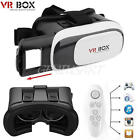 Upgrate Virtual Reality VR Headset BOX 2.0 Goggles 3D Glasses Cardboard Remote