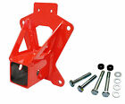 "Red 2"" Receiver Hitch DragonFire 16-1171 14-16 Polaris RZR XP & XP4 1000"