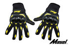 Masei 103 Motorcycle & Motocross Gloves BLACK/YELLOW M L XL