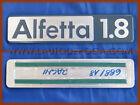 ALFA ROMEO ALFETTA 1.8 - Logo emblem badge rear script