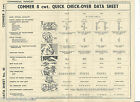 COMMER 8 cwt. QUICK CHECK-OVER DATA SHEET NO. 40 NEWNES