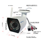 Microseven HD 1080P Wireless IP Camera 110°View Free M7 Cloud Works with Alexa
