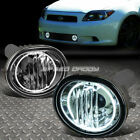 FOR 05-10 SCION TC ANT10 CLEAR LENS OE DRIVING PAIR HALO RING FOG LIGHT LAMP