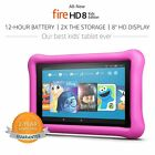 Amazon Kindle Fire 8 Pink Kids Children's Edition 32 GB Kids Proof