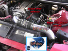 Black Blue 3PC For 94-97 Camaro Z28 Pontiac Firebird 5.7L V8 Cold Air Intake