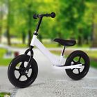 """12"""" Children No-Pedal Balance Bike Learn To Ride Pre Bicycle w/ Adjustable Seat"""