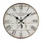 Hometime MDF Round Wall Clock 30cm - 'Ladle'