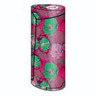 Skins Decals for Smok Priv V8 60w Vape / Pink Green Wild Flowers