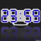 Modern 3D Digital Display LED Wall Alarm Countdown Clock  24 Hour Display Timer