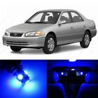 8 x Blue LED Interior Lights Package For 1997 - 2001 Toyota Camry + PRY TOOL