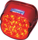 Laydown Led Taillight Assembly Red W/ License Lens Facing Up