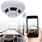 Wi-Fi Surveillance Camera HD Smoke Detector Nanny Security Video Recorder Cam