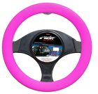STEERING COVER RED SEAM SIMONI RACING SILICONE PINK