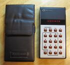 Vintage Rockwell Model 18R calculator (1975/6) ** Tested + batteries + case **