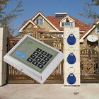 Electronic RFID Proximity Entry Door Lock Control System 10 Keys RFID Security