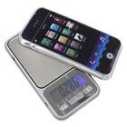 Digital iPhone Portable 1000g Pocket Scale Blacklight LCD Screen