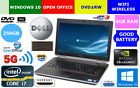 "DELL Latitude E6420 i7 2.8Ghz 4GB 250GB HDD 14"" Win10P DVDRW HDMI nVIDIA QUAD"