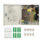 Yaetek Key Lock 9 Output 12 V DC CCTV Distributed Power Supply Box 9-5A NEW