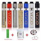 Brand VGOD Pro Mech Mod Tricktank RDTA Vape Kit with Battery+Cotton+Coil【 US】