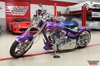 Chopper Royal Ryder Chopper 2001 Custom Built Motorcycles Chopper Royal Ryder Chopper 766 Miles Purple