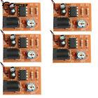 5x DIY Kits NE555 Analog Rain Drop Circuit Suite Bistable Simple Hypnotic Module