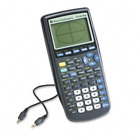 Texas Instruments TI-83 Plus Programmable Graphing Calculator Packaging and May