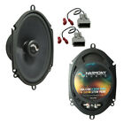 Fits Ford Taurus 1996-1999 Rear Deck Replacement Harmony HA-C68 Speakers New