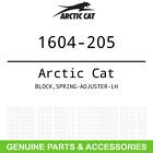 OEM Arctic Cat BLOCK SPRING-ADJUSTER-LH 1604-205