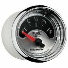 """Auto Meter 1217 American Muscle Fuel Level Gauge 2-1/16"""" Electrical"""