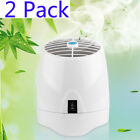 2pcs Fresh Air Home Office Ionic Purifier Ionizer Ozone Generator Aroma Diffuser