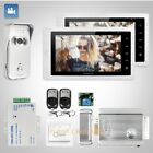 """HOMSECUR 7"""" Video Door Phone Intercom System+IR Night Vision for Home Security"""