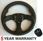 280MM SPORTS RACE STEERING WHEEL AND BOSS KIT FIT LAND ROVER DEFENDER 36 SPLINE
